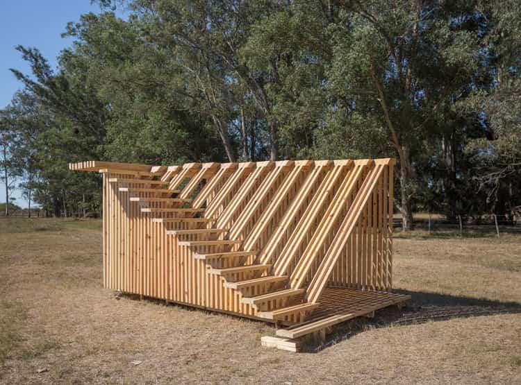 Campero de Estudio Papa / Hello Wood Argentina